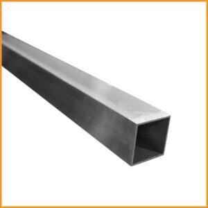 tube aluminium carré